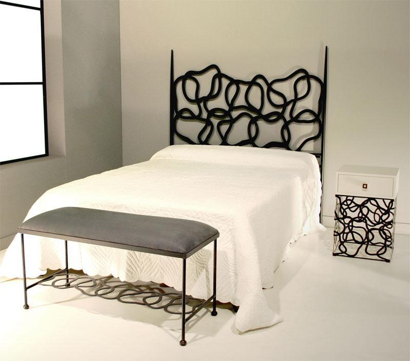 Cabecero 100 dakar dormitorios de forja chasol camas - Mesillas de forja ...