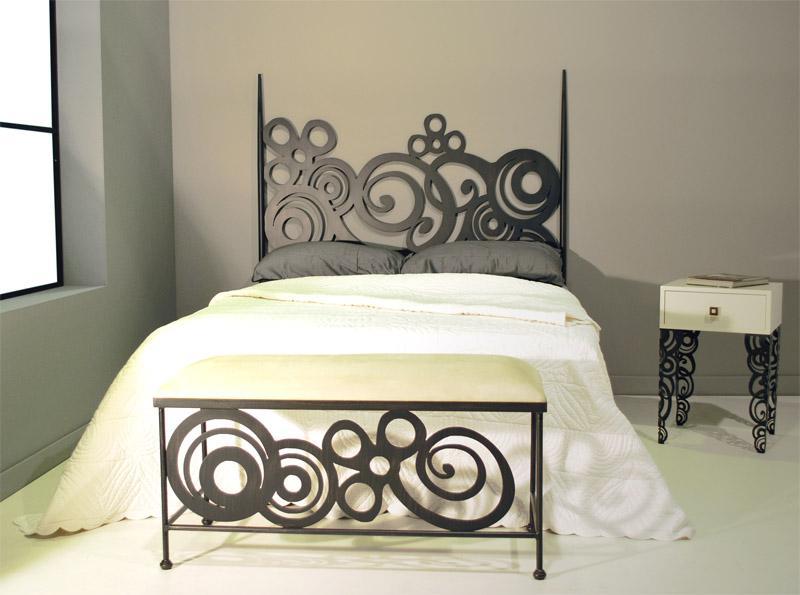 Cabecero 160 deco dormitorios de forja chasol camas - Cabeceros de cama rusticos ...