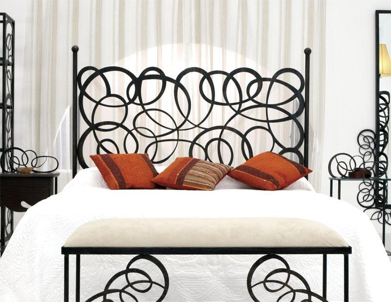 Cabecero enredo dormitorios de forja chasol camas - Cabeceros de cama antiguos ...