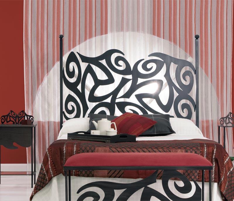 Cabecero eros dormitorios de forja chasol camas - Cabeceros de forja de diseno ...