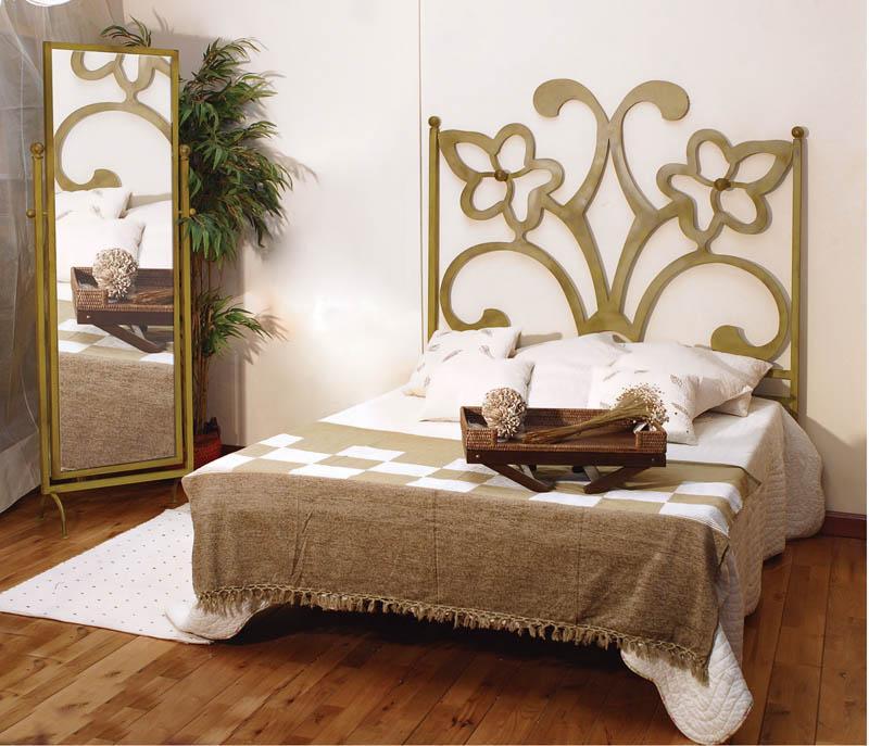 Cabecero sandra dormitorios de forja chasol camas - Cabeceros de forja de diseno ...