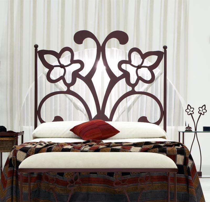 Cabecero sandra dormitorios de forja chasol camas - Cabeceros de forja ...