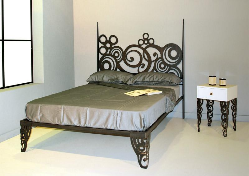 Cabecero con ba era 100 deco dormitorios de forja chasol - Diseno de cabeceros de cama ...