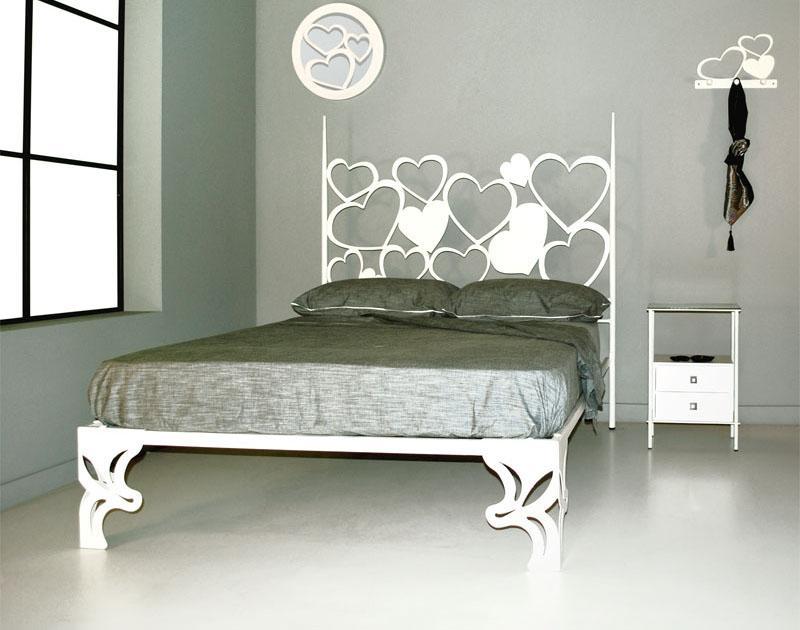 Cabecero con ba era 160 pasi n dormitorios de forja - Cabeceros cama de forja ...