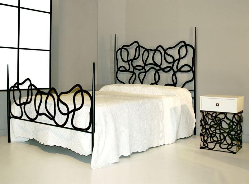 Cama 145 dakar dormitorios de forja chasol camas - Camas de forja ...