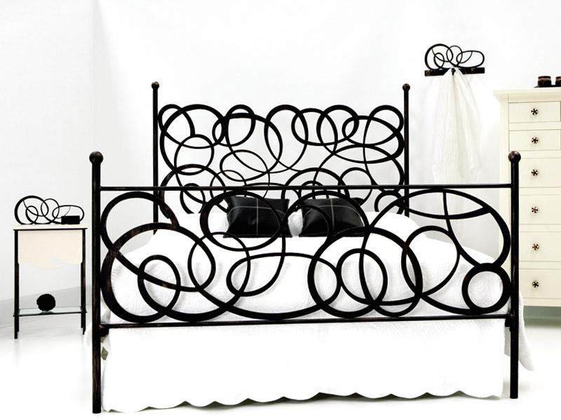 Cama enredo dormitorios de forja chasol camas - Camas de forja ...
