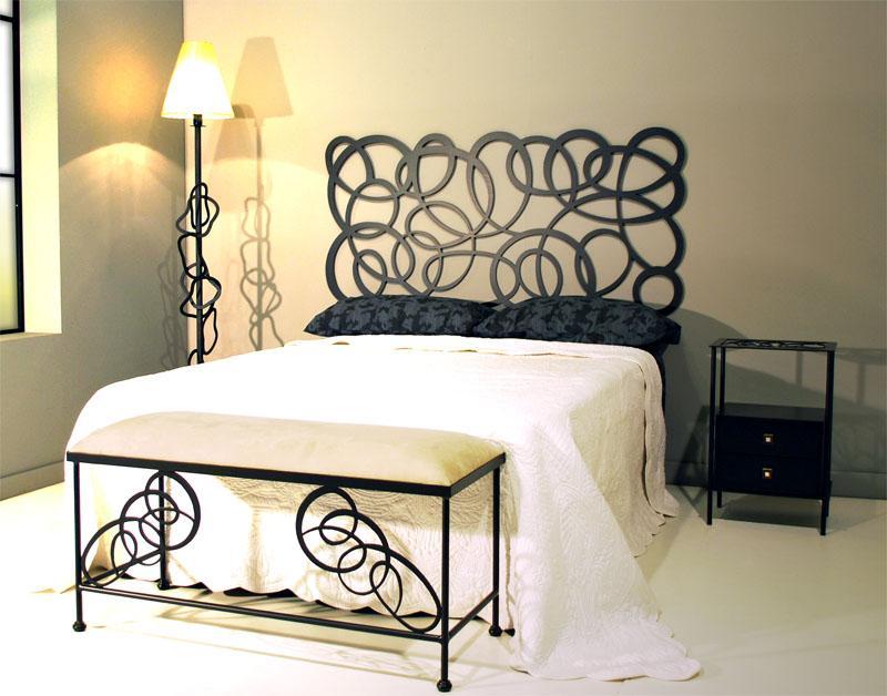 Dibujo enredo dormitorios de forja chasol camas - Cabeceros de forja de diseno ...