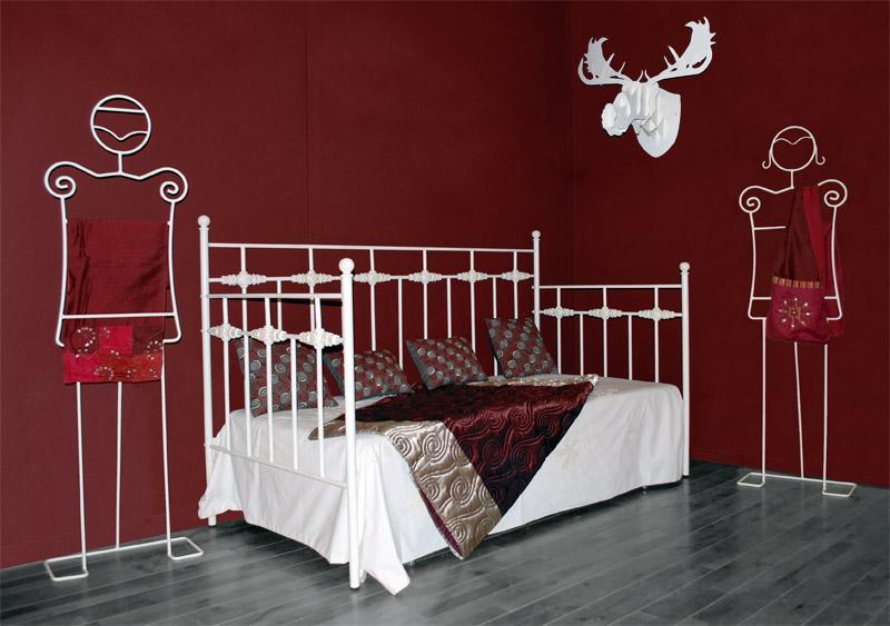 Div n bolonia dormitorios de forja chasol camas - Divan de forja ...