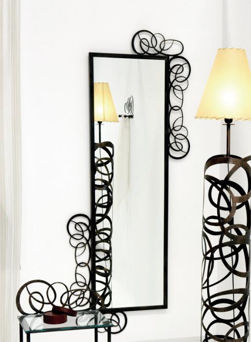 Espejo vestidor enredo dormitorios de forja chasol camas for Espejos para dormitorios pie