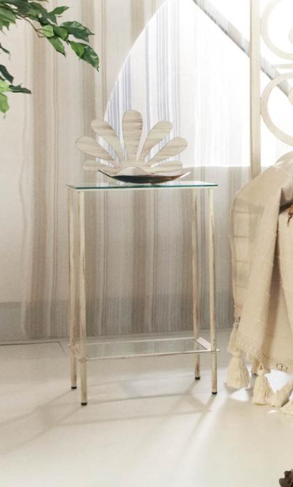 Mesilla de forja lidia dormitorios de forja chasol camas for Mesillas de forja ikea