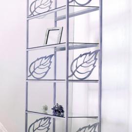 Estanteria iris dormitorios de forja chasol camas for Estanteria forja ikea