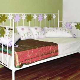 Div n fantasia dormitorios de forja chasol camas - Cama divan forja ...