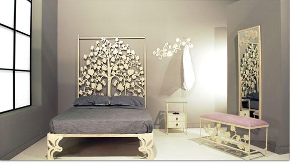 Dormitorios de forja chasol camas for Espejos para habitaciones juveniles